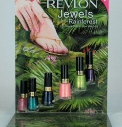 Revlon Point of Sale Display - Jewels of the Rainforest