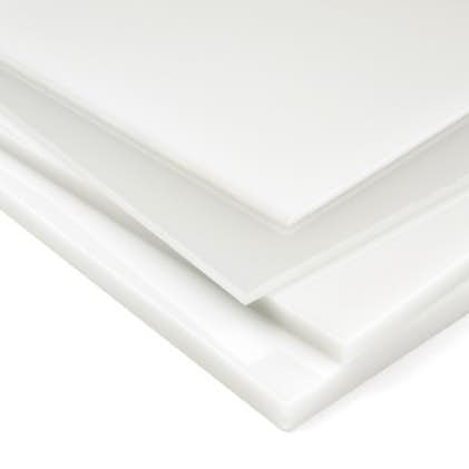 Opal polycarbonate sheet solid