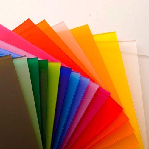 plexiglas satinice colour swatch