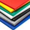 Coloured foam pvc board
