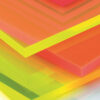 Fluorescent Acrylic Sheet close up