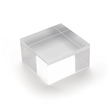 clear acrylic block