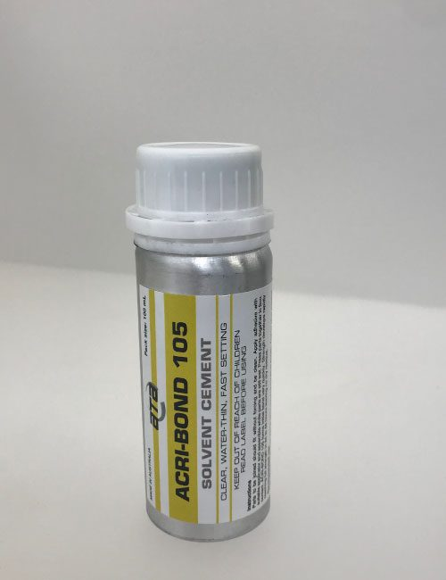 acrylic solvent adhesive