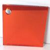 amber 622 coloured acrylic mirror