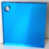 blue 268 coloured acrylic mirror