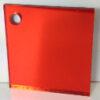 orange 219 coloured acrylic mirror