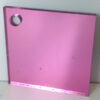 rose pink 550 coloured acrylic mirror