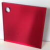 red 500 coloured acrylic mirror