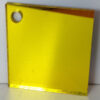yellow 408 coloured acrylic mirror