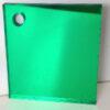 green 614 coloured acrylic mirror
