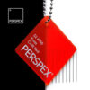 perspex frost chilli red 4t50 colour swatch