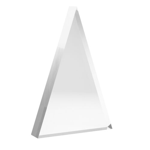 acrylic triangle awards